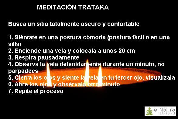 meditación Trataka