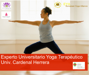 Yoga terapeutico on line