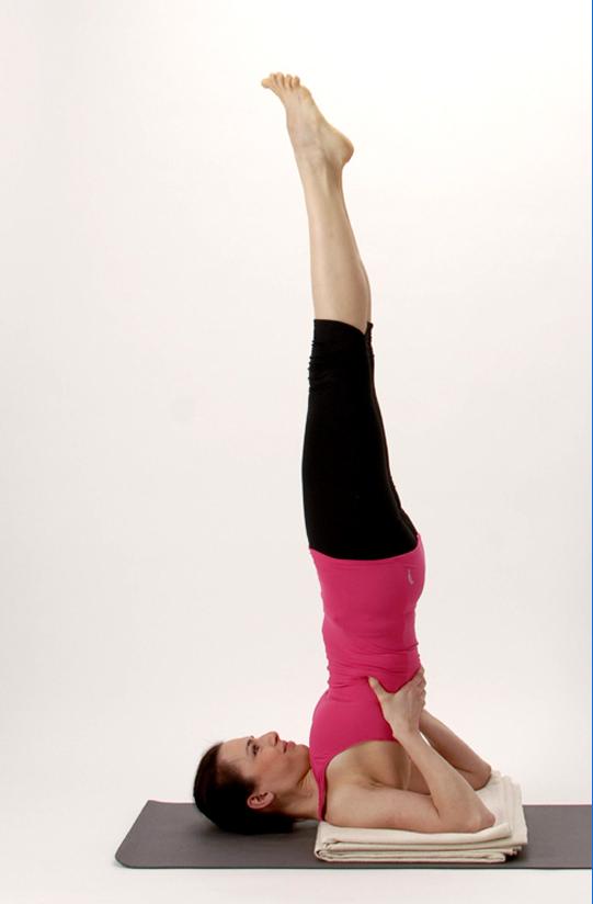 Sarvangasana o Vela. Aspectos terapéuticos y biomecánicos - Yoga ...