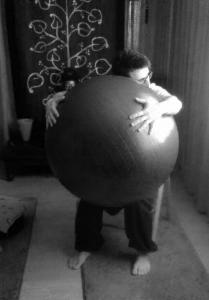 yoga-fitball