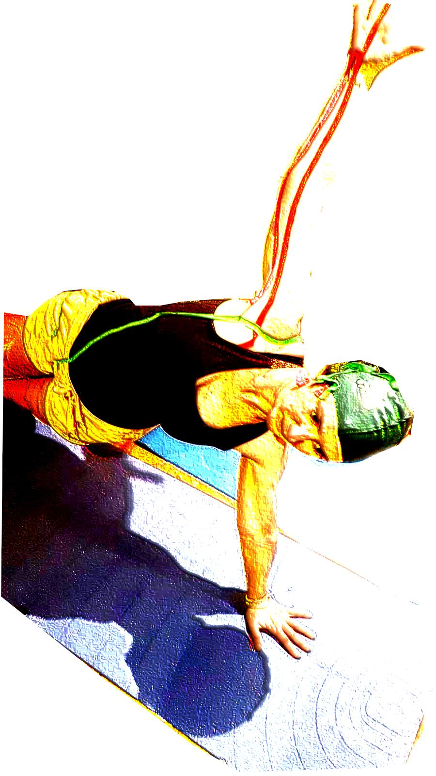 Yoga y meridianos