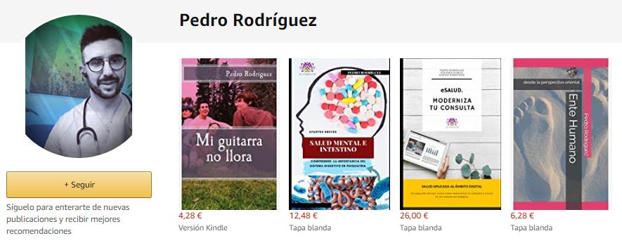 libros de Medicina Integrativa de Pedro Rodríguez