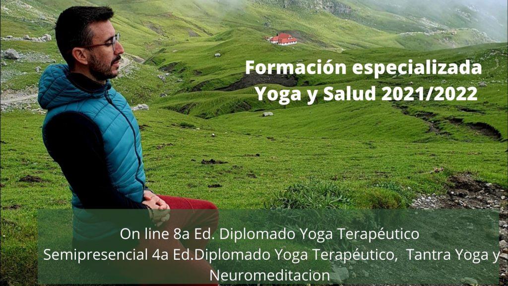 Diplomado Yoga terapéutico